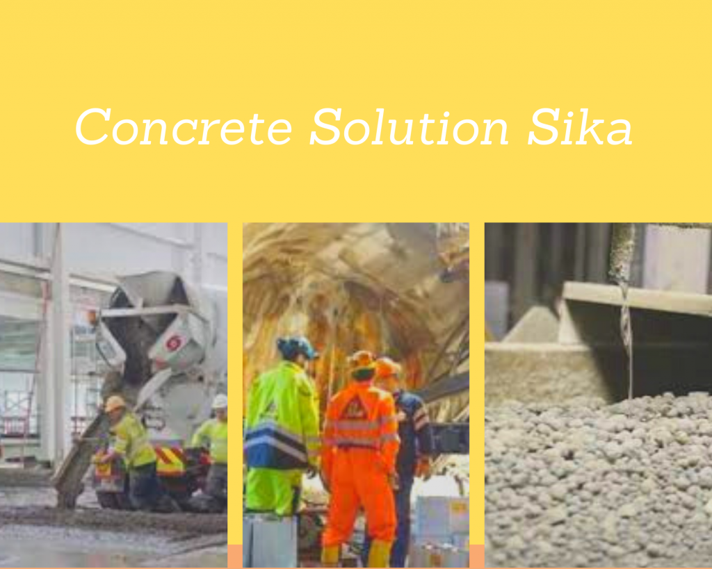 Concrete Product Sika