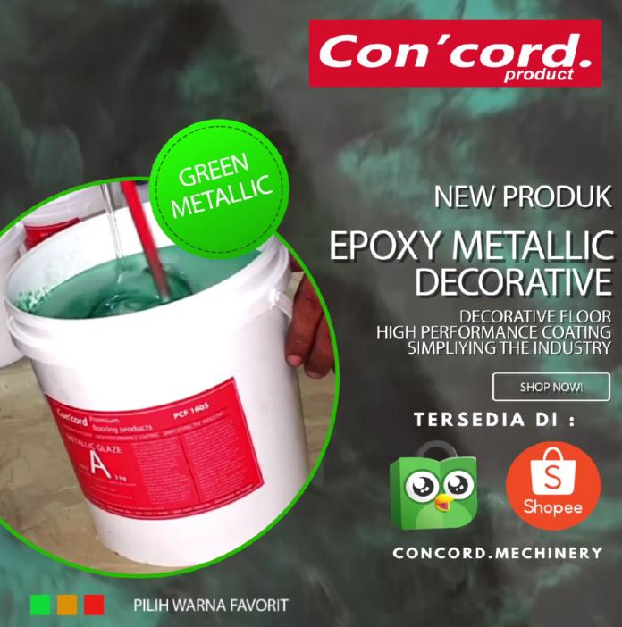 jual cat epoxy metalik berkualitas